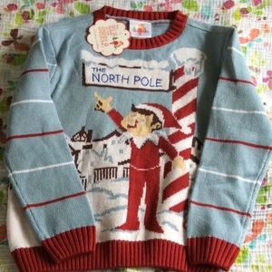 The Elf On The Shelf Ugly Sweater Sz 5/6Y holiday